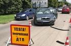 В Ужгороді біля Боздоського парку автомобіль Шкода збив мотоцикліста (ФОТО)