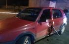 Аварія в Хусті: Дівчина проїхала на капоті (ВІДЕО)