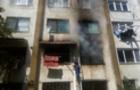 В Ужгороді по вул. Можайського горіла квартира. Врятовано 4 людей