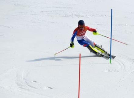 Закарпатець Ковбаснюк провалив обидві спроби в слаломі на Олімпіаді в Кореї