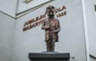 Біля школи в Ужгороді відкрили скульптуру президенту Масарику. Деякі ужгородці не задоволені