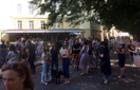 В Ужгороді триває мітинг проти ремонту Набережної Незалежності