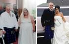 Схуднувши на 90 кг, подружжя з Шотландії ще раз одружилося