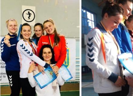 Аліна Рапинець і команда здобули срібло і бронзу на Кубку України