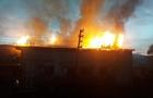 На Рахівщині згоріла будівля котельні деревообробного підприємства