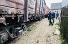 В Ужгороді вантажний потяг зійшов з рейок (ФОТО)