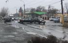 В Ужгороді на Капушанській зіштовхнулися два легкові автомобіля. Рух обмежено