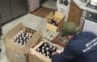 Прокуратура Закарпаття оприлюднила відео затримання вантажу з контрафактним коньяком (ВІДЕО)