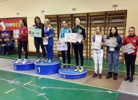 Олександра Лазаренко стала срібною призеркою Всеукраїнського турніру