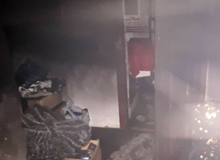 В Мукачеві сьогодні вночі ледь не згорів будинок
