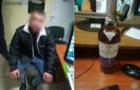 В Ужгороді чоловік намагався врдуге винести дорогий алкоголь із супермаркету