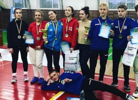На Чемпіонаті України закарпатські фехтувальники вибороли три медалі