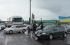 """В Ужгороді """"бляхарі"""" блокували трасу, цього разу лише на дві години"""