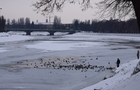 В Ужгороді рятувальники звільнили річку від криги