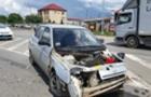 У Мукачеві зіштовхнулися ВАЗ та Шкода (ФОТО)