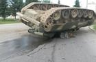 На Закарпатті зіштовхнулися бойові машини. Четверо військових отримали травми
