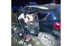 Для деблокування тіла загиблого у ДТП на Іршавщині водія, викликали рятувальників (ФОТО)