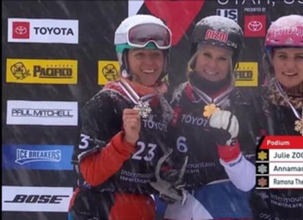 Сенсаційний виступ: Закарпатка Данча виборола срібло на Чемпіонаті світу зі сноубордингу (ВІДЕО)