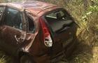 На Закарпатті автомобіль перекинувся на дах (ФОТО)