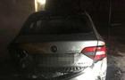 В Ужгороді на набережній згорів автомобіль