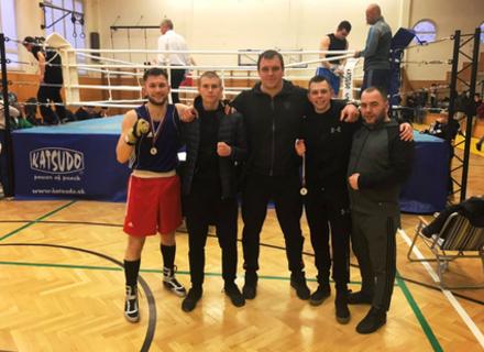 Спортсмени Ужгородської федерації боксу стали призерами міжнародного турніру у Словаччині