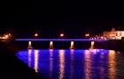 В Ужгороді відновили ілюмінаційне підсвічування мостів