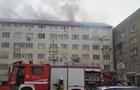 В Ужгороді зранку горів гуртожиток коледжу (ФОТО)