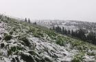 У горах Закарпаття - сніг та вітер (ВІДЕО)