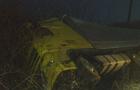 Ожеледиця: Під Мукачевом вантажівка перекинулася в кювет