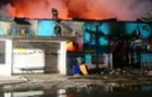 Масштабна пожежа на Закарпатті: згорів двоповерховий меблевий магазин (ФОТО)