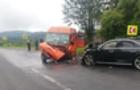 На Львівщині в ДТП потрапив автомобіль із закарпатцями: В аварії постраждали 11 чоловік (ФОТО)