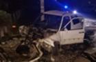 Трагедія на Виноградівщині: Автомобіль вдарився в бетонний стовп (ФОТО)
