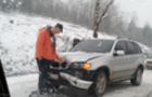 Біля Іршави зіштовхнулися легковий автомобіль та мікроавтобус