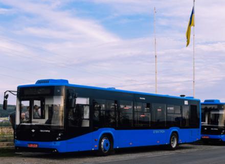 У вересні в Ужгороді будуть курсувати ще 10 нових автобусів Електрон