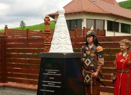 На Закарпатті відкрили пам'ятник із суттєвими історичними помилками