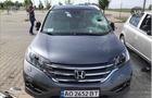 Біля одного із супермаркетів в угорському Дебрецені розбили автомобілі закарпатців