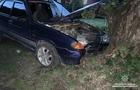 В Ужгороді нетвереза жінка-водій на дев`ятці влетіла у платан