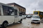 Через потужну зливу затоплено декілька вулиць в Ужгороді
