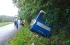 На Перечинщині пасажирський автобус перекинувся в кювет - твоє людей травмовані