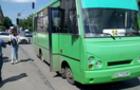 В одній із ужгородських маршруток на ходу розірвало колесо