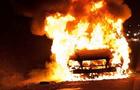 На Тячівщині спалили автомобіль