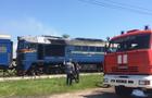 У Тячеві горить локомотив пасажирського потягу