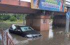 Через збій в електромережі було затоплено проїзд під залізничним мостом в Ужгороді
