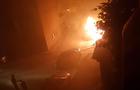 В Ужгороді під ранок згорів автомобіль, який належить заступнику мера