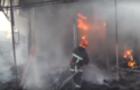 В Ужгороді сталася пожежа на ринку