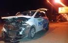В Ужгороді вночі зіштовхнулися два автомобіля