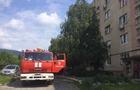 У Виноградові сталася пожежа у п`ятиповерхвці, вогнеборці врятували чоловіка