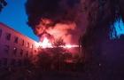 На Закарпатті масштабна пожежа: Згоріла триповерхова школа (ВІДЕО)