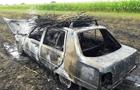 На Виноградівщині вщент згорів автомобіль (ФОТО)