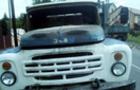 У Мукачеві під час руху загорілася вантажівка ЗІЛ-130